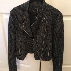 Theory jacket size 6 black